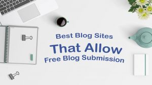Free blog submission site list