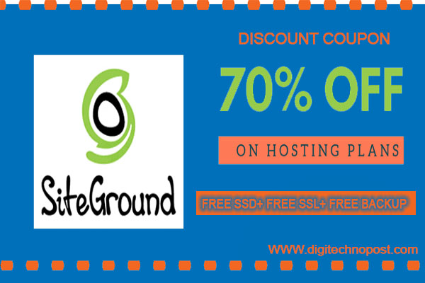 Siteground discount coupons code 2020