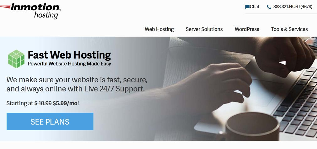 This image has an empty alt attribute; its file name is inmotion-hosting-2020-Best-wordpress-hosting.jpg